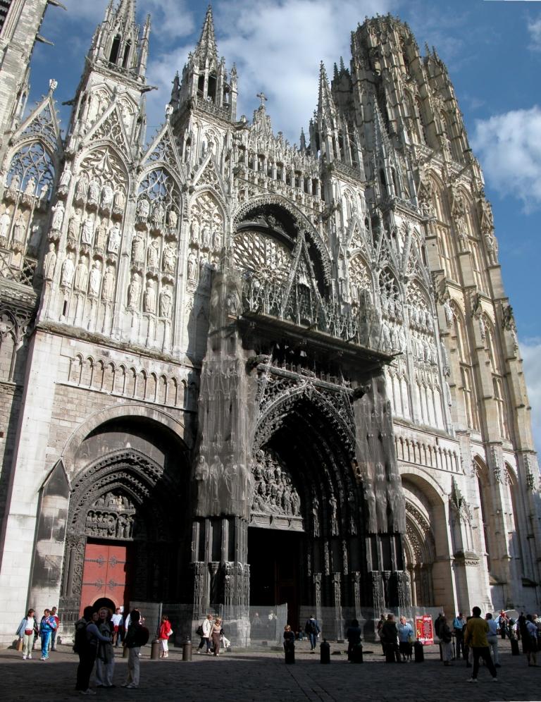 vedere generala catedrala Rouen