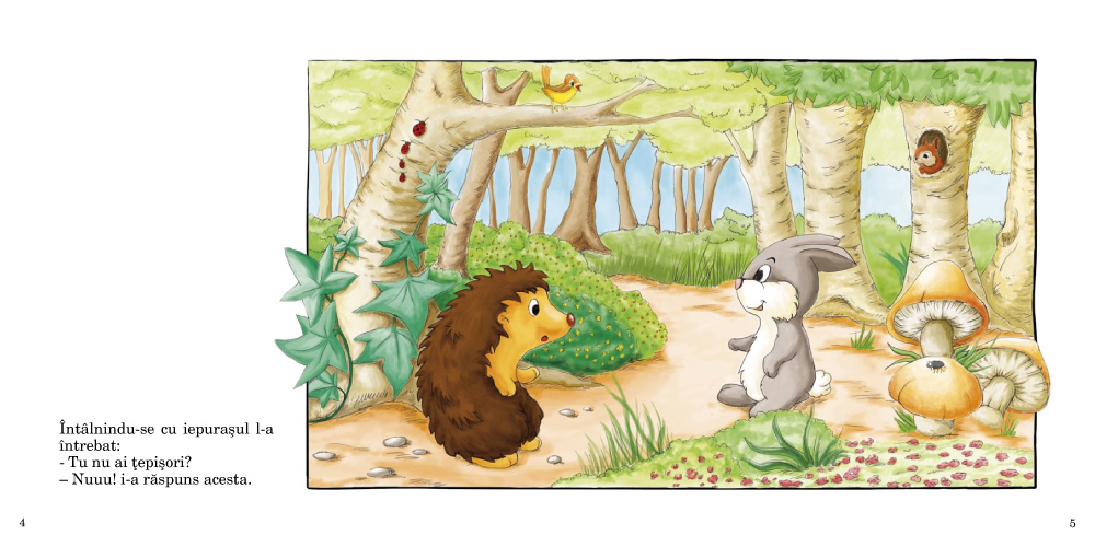 povestea puiului de arici