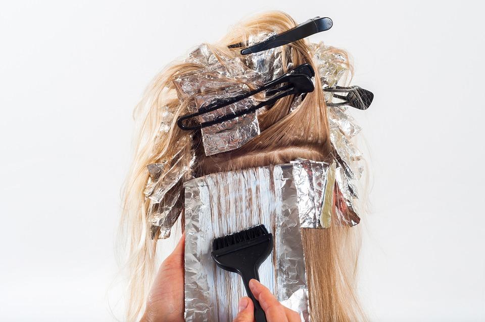 vopsirea părului acasă