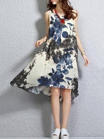 rochie imprimeu floral newchic