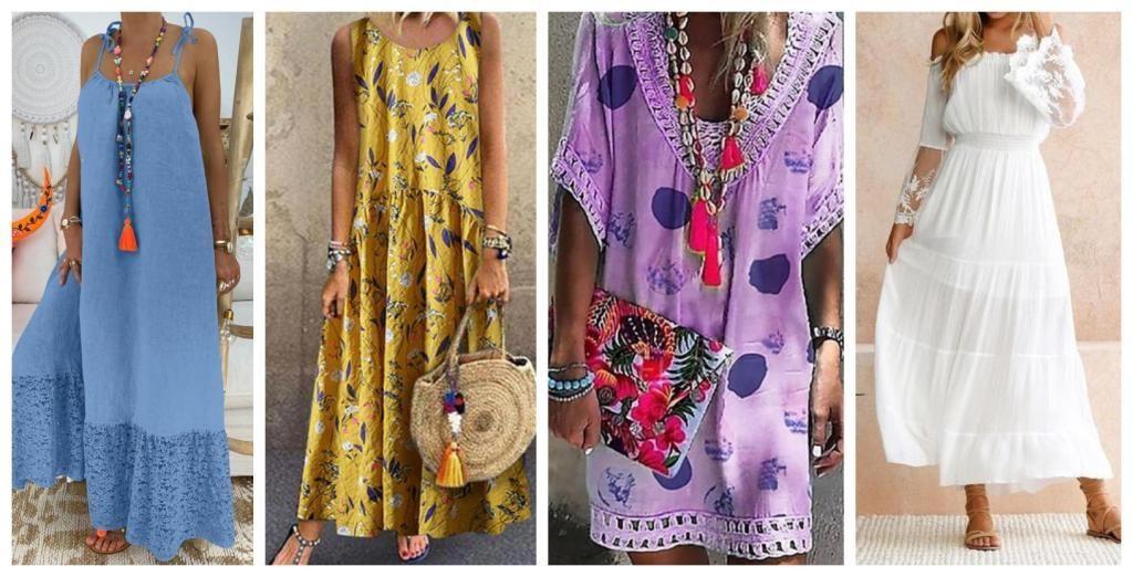 rochii casual de vară
