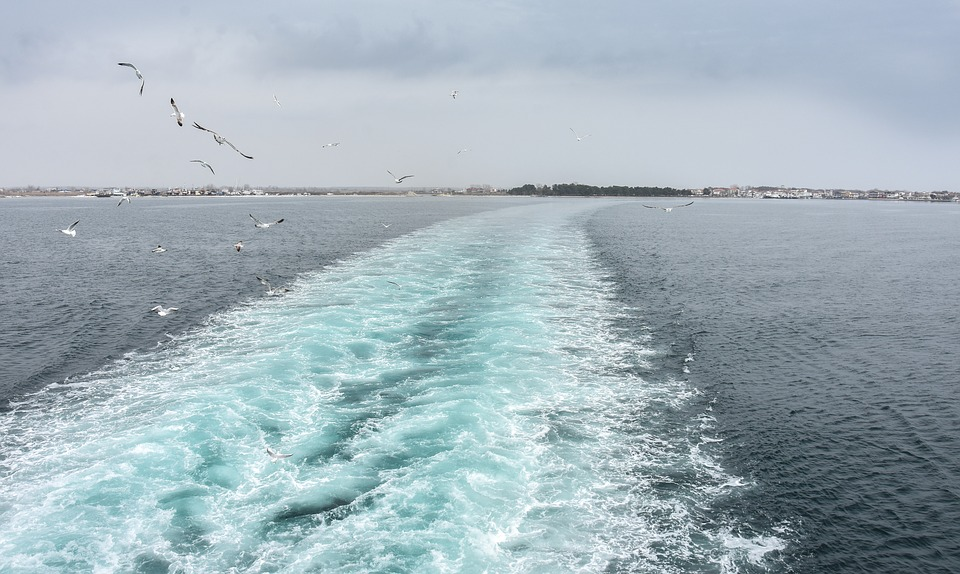 cu feribotul spre Thassos
