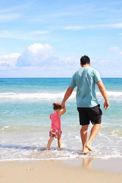 cu copiii la mare