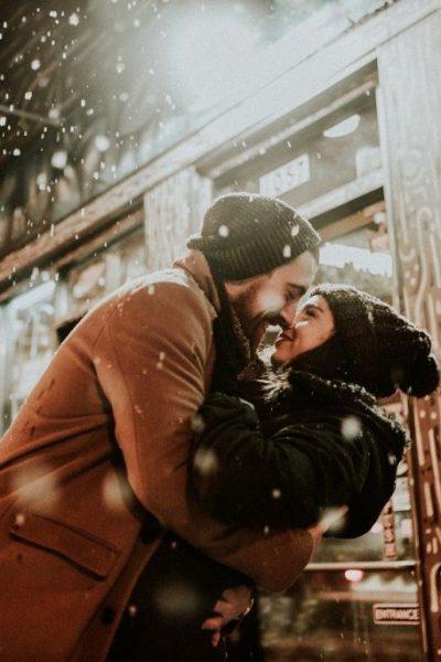semnificația sărutului sub vâsc