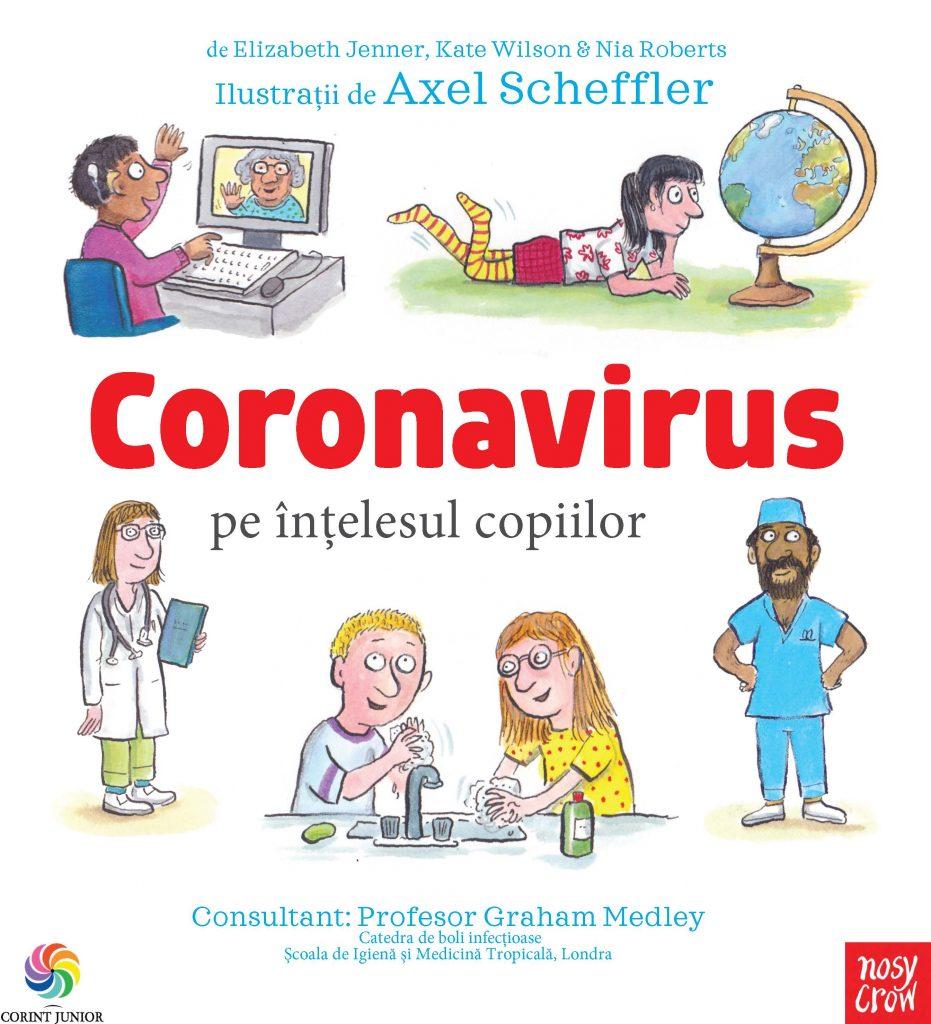 coronavirusul pe înțelesul celor mici