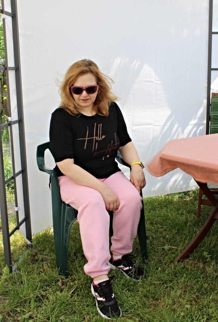 pantalon trening roz