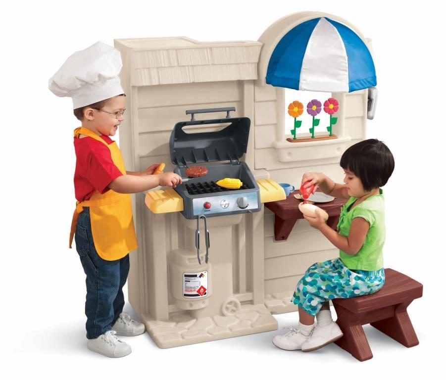 bucătărie cu grătar